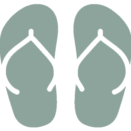 Icon of a beach sandals
