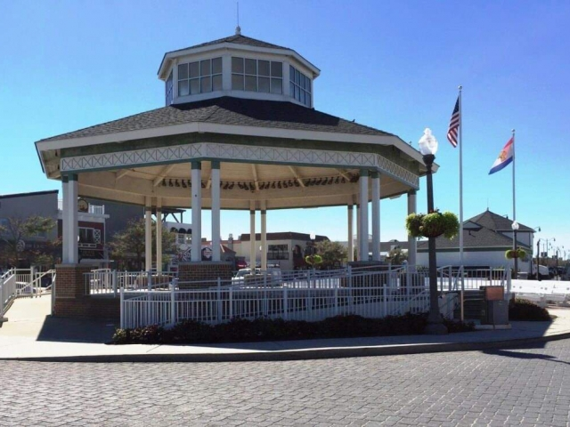 The bandstand in Rehoboth Beach, DE