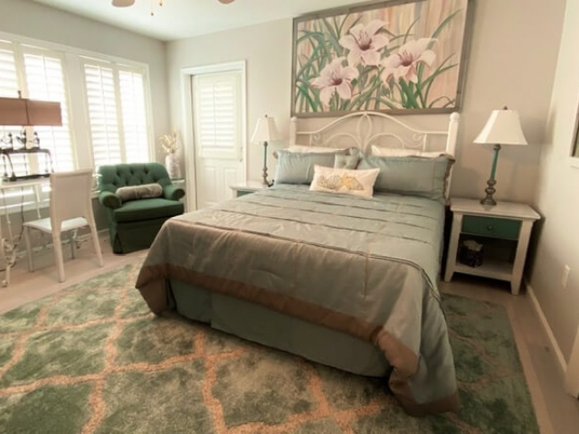 Beachcomber unit master bedroom
