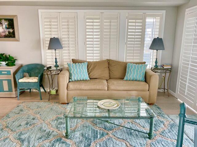Beachcomber unit living area